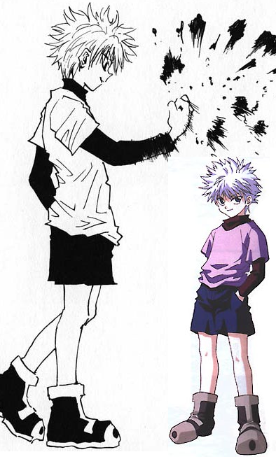killua reference