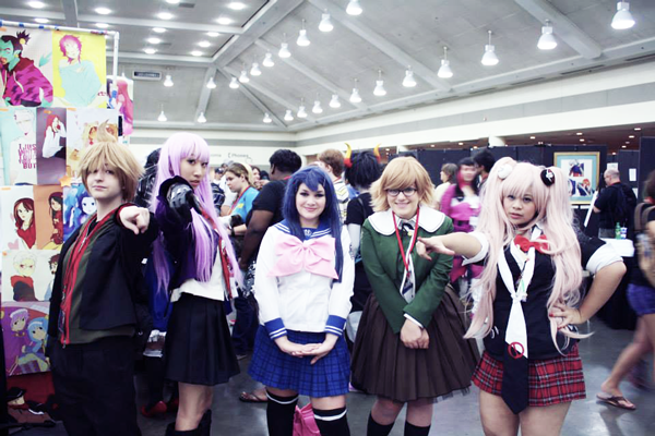 group cosplay