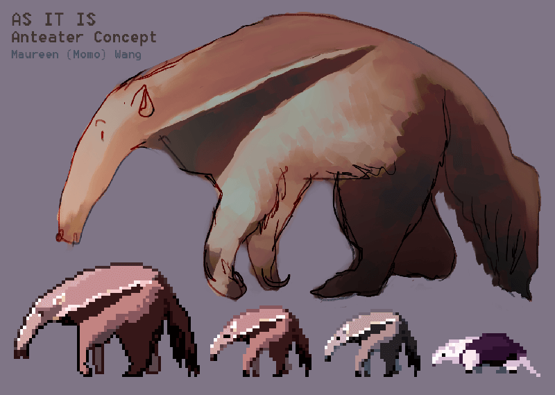 As It Is Anteater Concept Art
