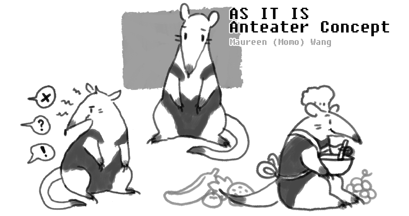 As It Is Anteater Concept Art 2nd Iteration