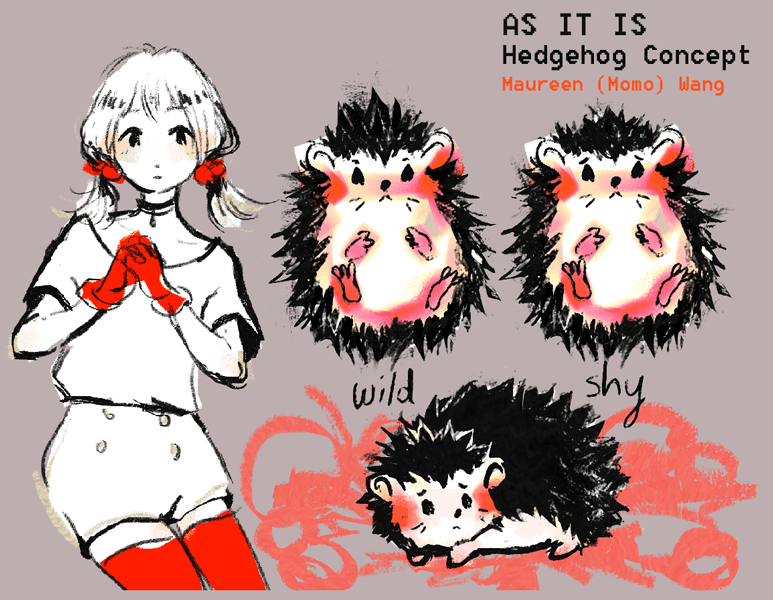 As It Is Hedgehog Concept Art
