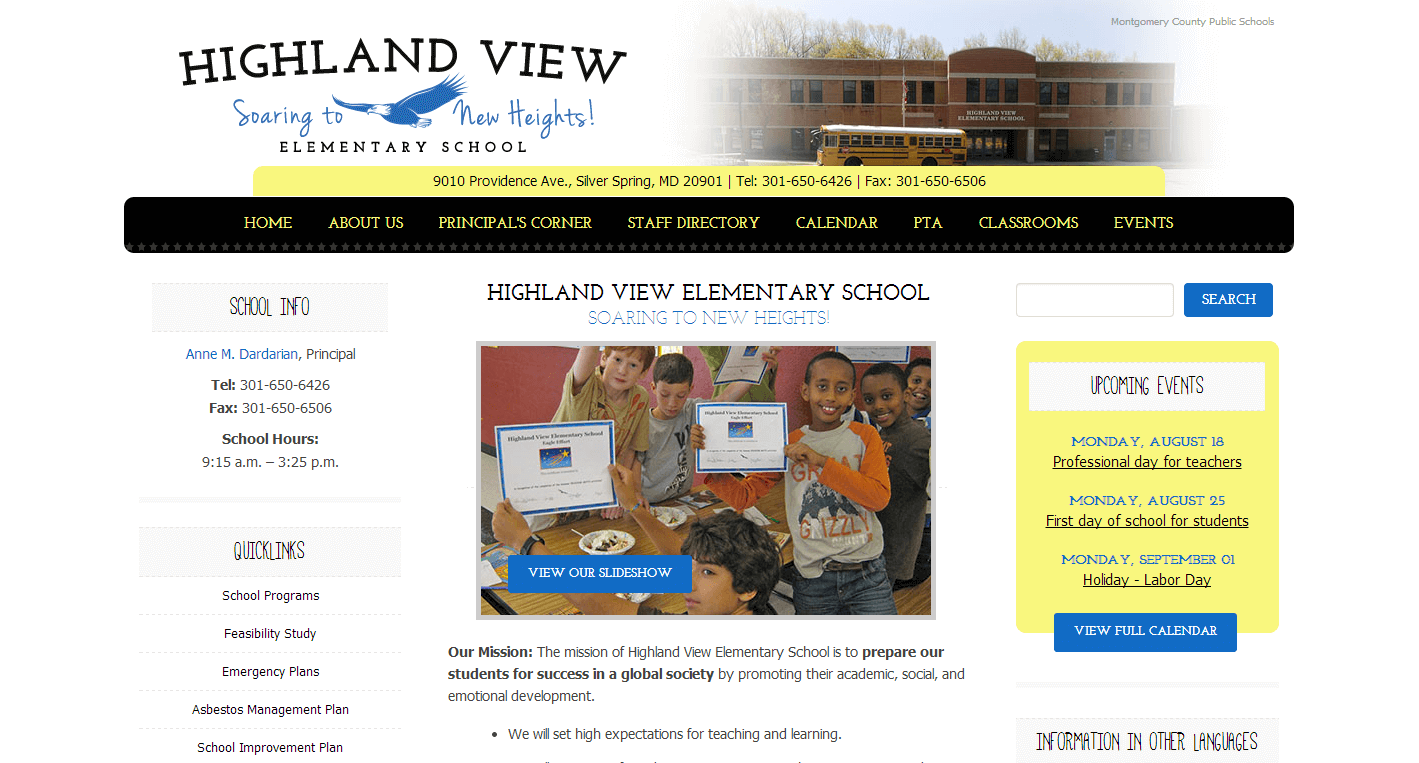 Highland View Elementary School