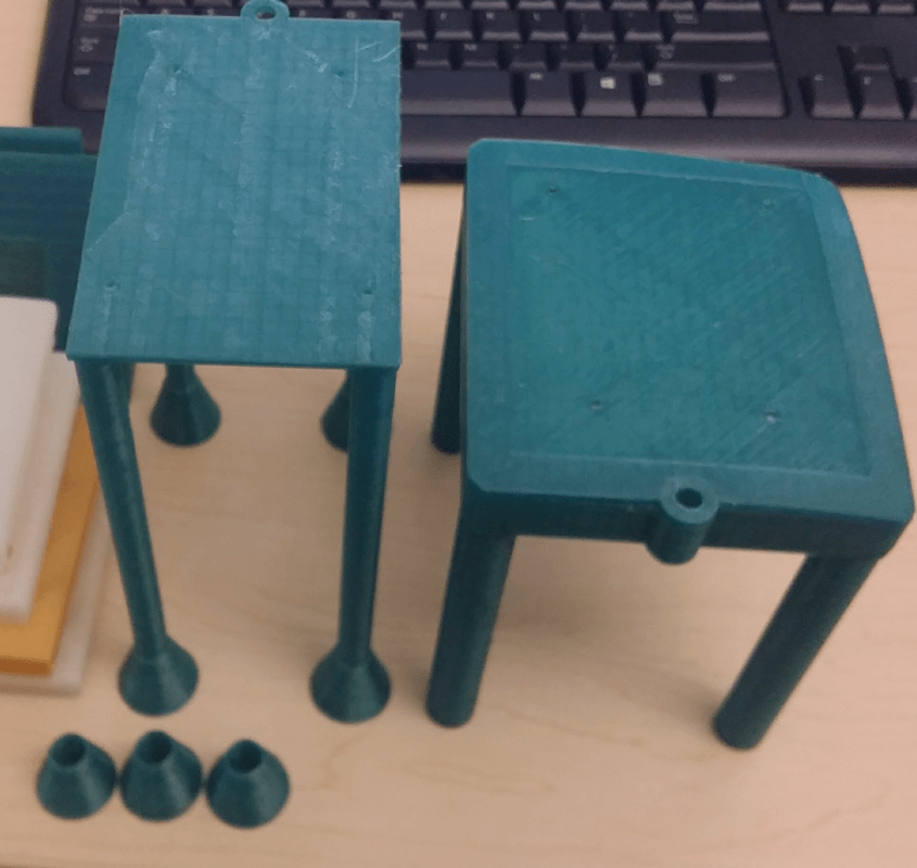 robot lidar stand iterations